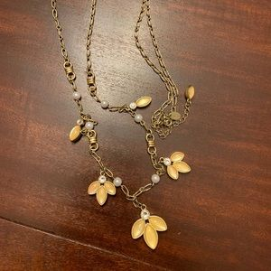 Gorgeous Gold Lotus Necklace
